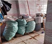 ضبط وإعدام 42 طن أغذية غير صالحة للاستهلاك الآدمي بـ 4 محافظات