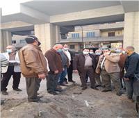 نائب محافظ القاهرة يتفقد مشروع تحسين ضغط المياه في «الساحل»