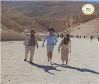 المدونان التشيكيان يستكملان زيارتهما التعريفية لمصر في الأقصر.. صور