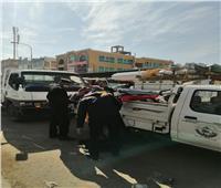 إزالة الإشغالات بمدينة بدر