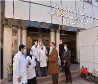 محافظ أسيوط يطمئن على شبكات الأكسجين بمستشفى الحميات