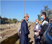 محافظ القليوبية يتفقد أعمال تطوير شارع أحمد عرابي