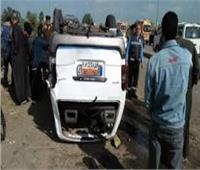 إصابة 11 مواطنا فى حادثين بالشرقية