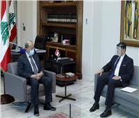 السيسي يطلب دعم لبنان لأبو الغيط لولاية ثانية