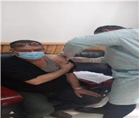 الأطقم الطبية بجامعة المنصورة تبدء التحصين بلقاح «كورونا»