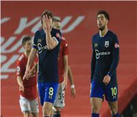 خسارة تاريخية لـ«ساوثهامبتون» بعد «تساعية» مانشستر يونايتد