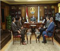 محافظ كفر الشيخ يستقبل وفد وزارة التخطيط لتفقد12 مركزاً تكنولوجياً