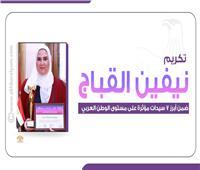 إنفوجراف | تكريم «القباج» ضمن أبرز 7 سيدات مؤثرة في الوطن العربي