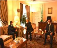 «الحريري» يزور الجامعة العربية.. وأبو الغيط: إنقاذ لبنان أولوية