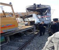 نقل ضحايا حادث قطار أسيوطلمشرحة مستشفى القوصية