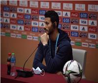 محمد الشناوي: دعم جماهيرنا وروح الأهلي سلاحنا أمام الدحيل