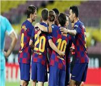ميسي وجريزمان يقودان برشلونة أمام غرناطة بكأس إسبانيا