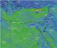 انخفاض درجات الحرارة ومنخفضان جويان.. توقعات الأرصاد لطقس الخميس