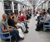 بسبب الغرامة الفورية.. 95% نسبة التزام ركاب المترو بالكمامة