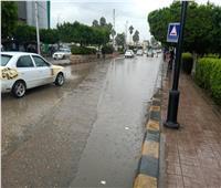 أمطار رعدية غزيرة وتوقف حركة الصيد بكفر الشيخ