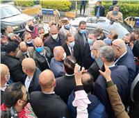 وزير النقل يتفقد المرحلة الأولى من طريق كفر الشيخ - دسوق بتكلفة مليار جنيه