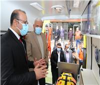 5 سيارات إسعاف جديدة لدعم منظومة الصحة بالسويس| فيديو