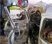 إصابة 7 أشخاص فى حادث تصادم سيارتي ميكروباص بالإسماعيلية