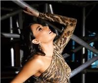 بالفيديو: سيرين تستعرض جمالها بـ«التيجر»
