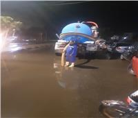 محافظ الفيوم يتابع أعمال رفع تراكمات مياه الأمطار