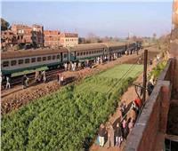 السكة الحديد: توقف حركة القطارات بـ«منوف».. واستدعاء «الأوناش» لرفع القطار