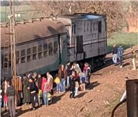للمرة الثانية محطة «الحلواصي» تشهد حادث قطار.. و«السكة الحديد» تكشف السبب