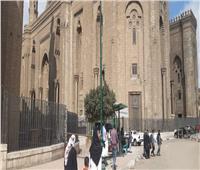 بث شعائر صلاة الجمعة من داخل مسجد الرفاعي بمصر القديمة