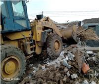إزالة فورية للتعديات على الأراضي الزراعيةبالمنوفية