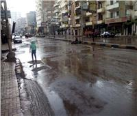 موجة من الطقس السيئ تضرب مدن جنوب سيناءوغلق الطريق الرئيسي