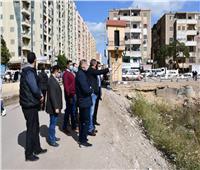 محافظ الفيوم يتفقد مشروع تطوير كورنيش بحر يوسف بمنطقة باغوص