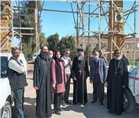 محافظ أسيوط يتابع تطوير مسار العائلة المقدسة لتعزيز فرص التنمية السياحية