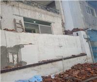 إزالة 8 مقابر بدون ترخيص بعزبة الحسينية شرق الإسكندرية   صور