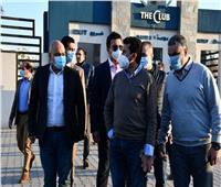 وزير الرياضة يجتمع مع مجلس أمناء أحد أندية مدينة 6 أكتوبر