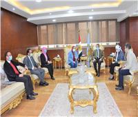 محافظ الغربية يستقبل ممثلي مبادرة «حياة كريمة» خريجي البرنامج الرئاسي