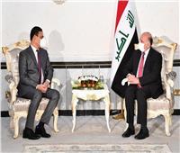 وزير الخارجية العراقي يتسلّم أوراق اعتماد سفير مصر الجديد لدى بغداد