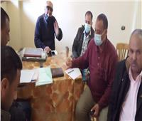 رئيس مدينة إسنا يتابع المواقع المستهدفة للتطوير بـ27 قرية بمبادرة حياة كريمة