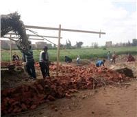 محافظ المنوفية: إزالة فورية لـ6 حالات تعدِ على الأراضي الزراعية
