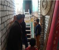 حصر جميع المنازل القديمة لإعادة تأهيلها بمبادرة «حياة كريمة» بالمنوفية