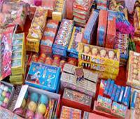 مصادرة ١٢٦ ألف قطعة ألعاب نارية بالأميرية