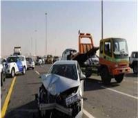 إصابة ٤ أشخاص بحادث تصادم في التجمع الخامس
