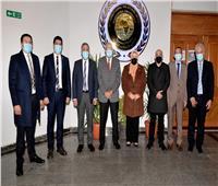 افتتاح المقر الجديد لمكتب العلاقات الدولية بجامعةالمنصورة