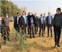 وزير الزراعة ومحافظ الفيوم يتفقدان مزرعة «كوم أوشيم»| صور