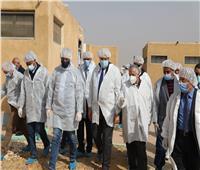 وزير الزراعة يتفقد المشروع القومي لإنتاج البيض الخالي من المسببات المرضية | صور