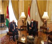 مصر والأردن تؤكدان على ضرورة وقف كافة التدخلات الأجنبية