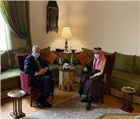 المالكي يبحث مع نظيره السعودي آخر مستجدات القضية الفلسطينية
