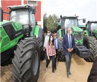 وزيرا التعاون الدولي والزراعة يشهدان تسليم مزراعي الفيوم والمنيا 324 معدة وآلة زراعية
