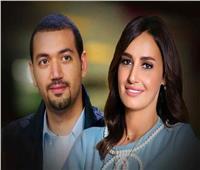 كيف نشأت قصة الحب بين حلا شيحة ومعز مسعود؟