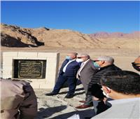 وزير الموارد المائية يتفقد أعمال الحماية من مخاطر السيول بجنوب سيناء