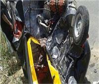 إصابة 3 أشخاص فى حادث انقلاب «توك توك» بأسوان