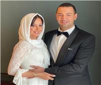 ظهرت بـ«الحجاب».. الصورة الأولى لـ«حلا شيحة» بعد قرانها على معز مسعود